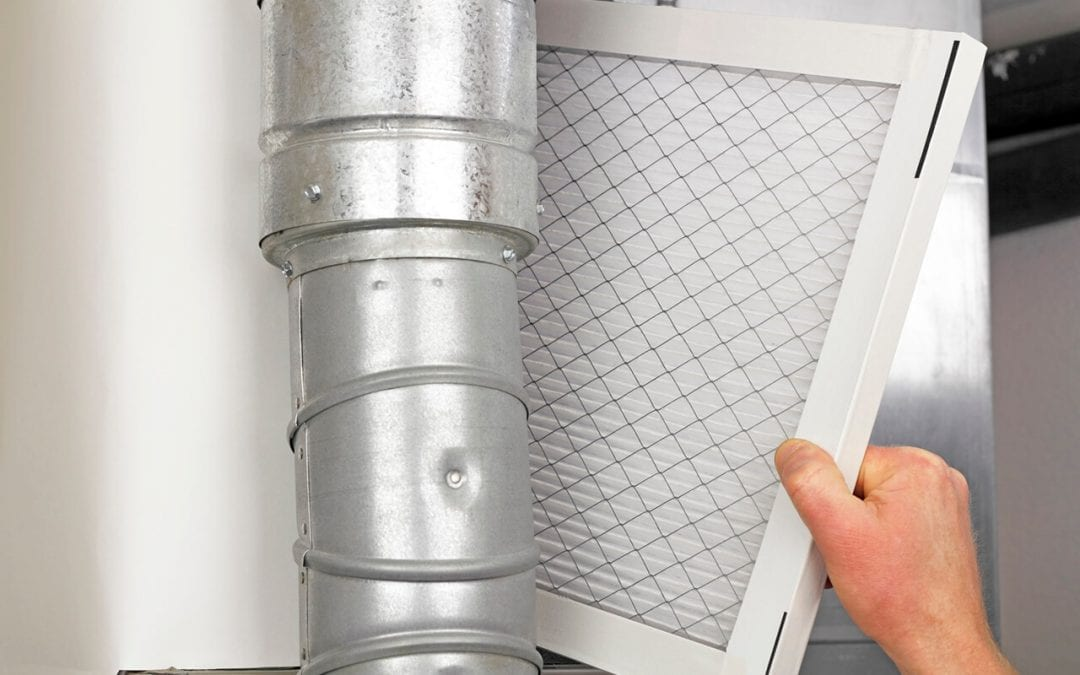 replace HVAC filters to heat your home more efficiently